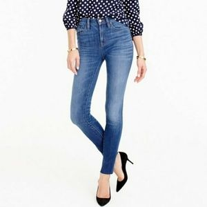 J Crew Lookout High Rise Skinny Jean Chandler Wash